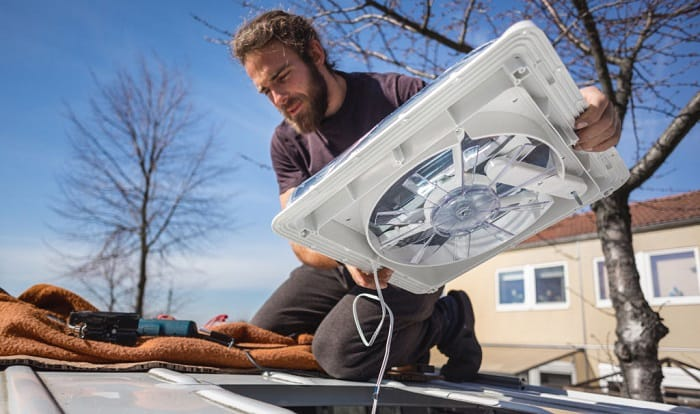 how to install rv air conditioner gasket